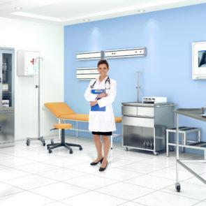Meble medyczne do gabinetów lekarskich
